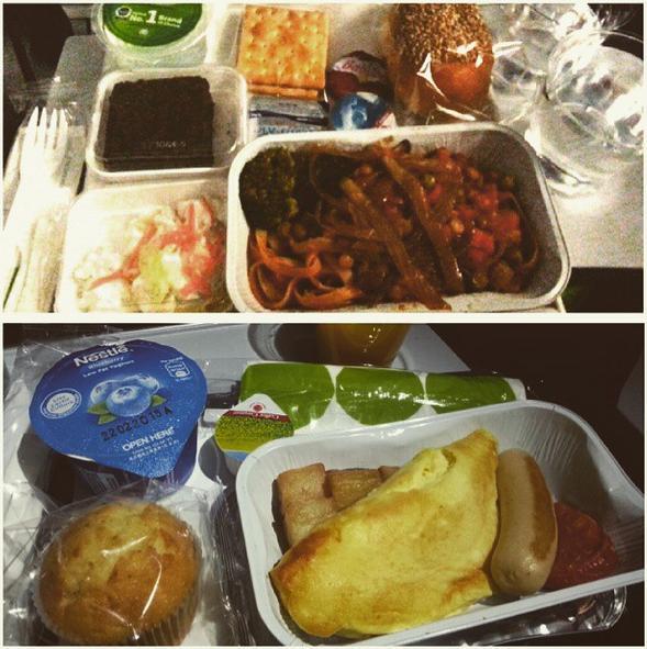 flight meals