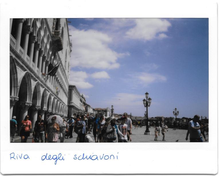 Venezia Riva degli sckiavoni