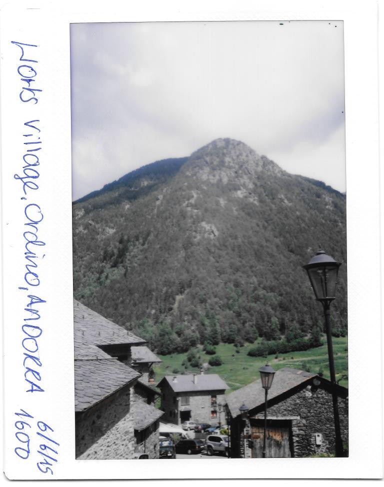 Andorra Ordino Village