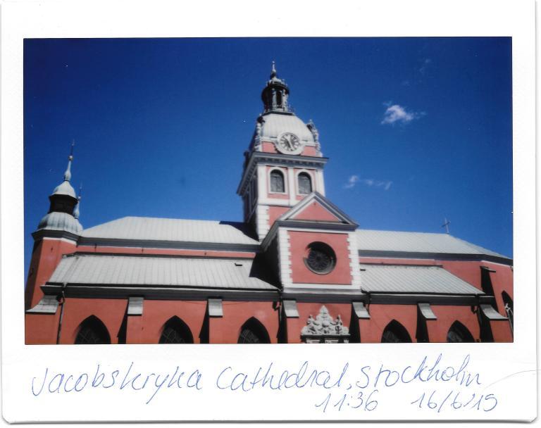 Stockholm Jacobskryka Cathedral