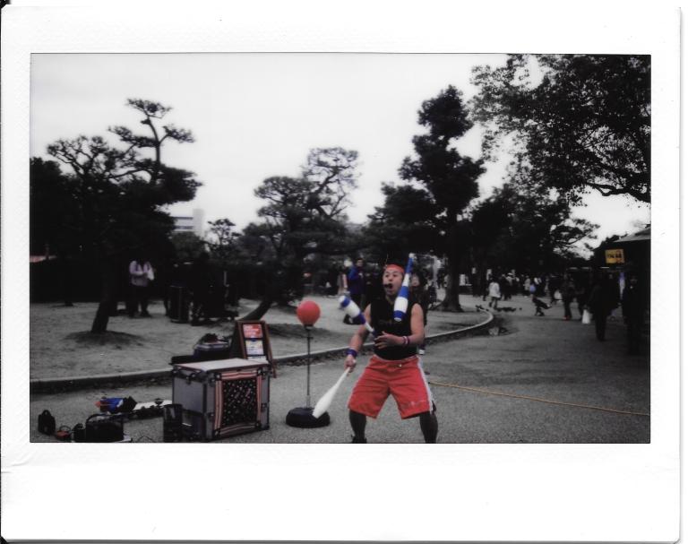 Osaka Castle Performer 2