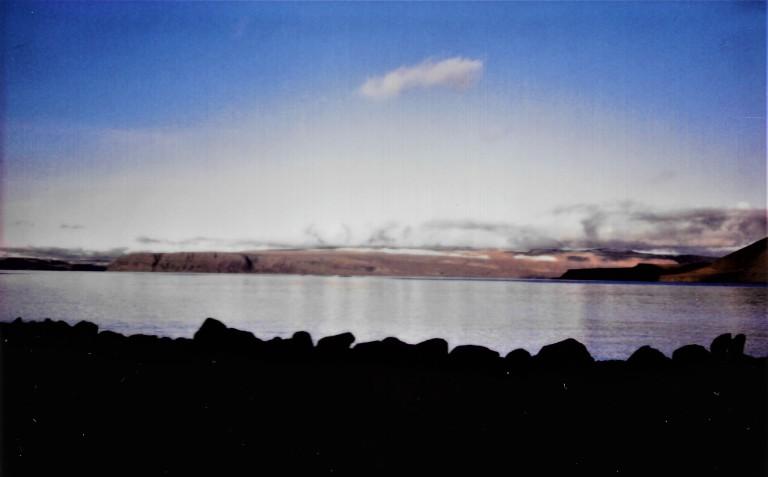 Isafjordur fjord sea