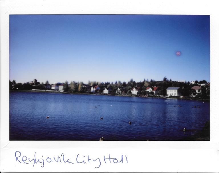 Reykjavik Town Hall Lake