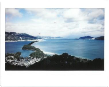 Amanohashidate and the sea
