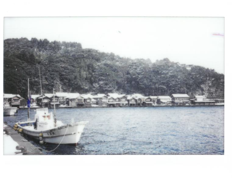 Ine boat and boathouses